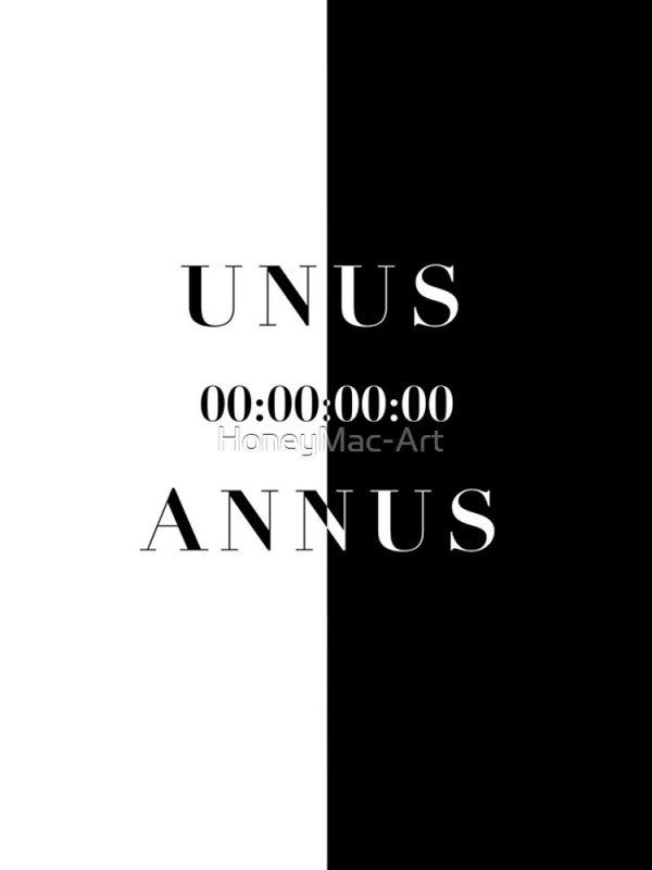 artwork Offical Unus Annus Merch