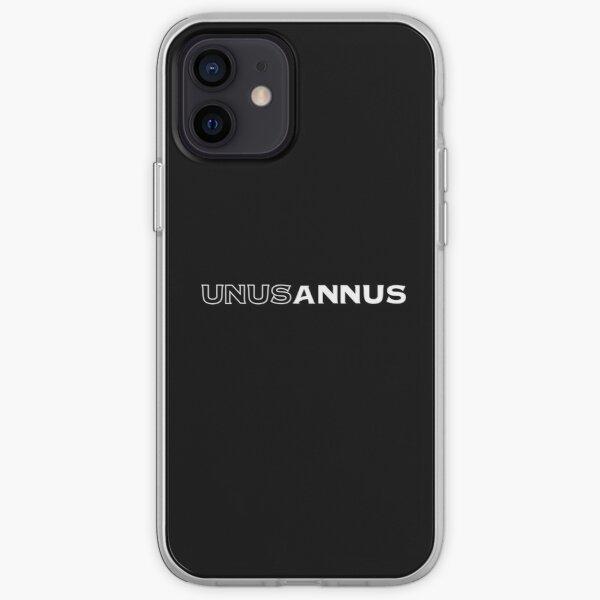 Unus Annus (white text) iPhone Soft Case RB0906 product Offical Unus Annus Merch