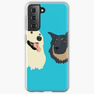 "Unus Annus ""Chica and Spencer"" Samsung Galaxy Soft Case RB0906 product Offical Unus Annus Merch"