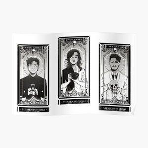 Unus Annus Trio cards Poster RB0906 product Offical Unus Annus Merch