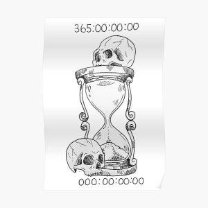 Unus Annus momento mori Poster RB0906 product Offical Unus Annus Merch