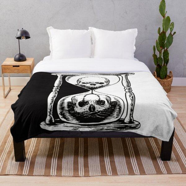 unus annus skull merch Throw Blanket RB0906 product Offical Unus Annus Merch