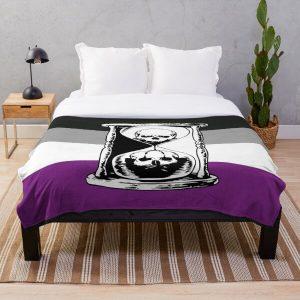 Unus Annus asexual Throw Blanket RB0906 product Offical Unus Annus Merch