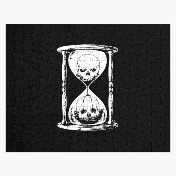 Unus Annus Hourglass Skull Jigsaw Puzzle RB0906 product Offical Unus Annus Merch