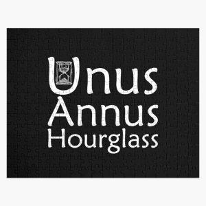unus annus hourglass, Gift idea Jigsaw Puzzle RB0906 product Offical Unus Annus Merch