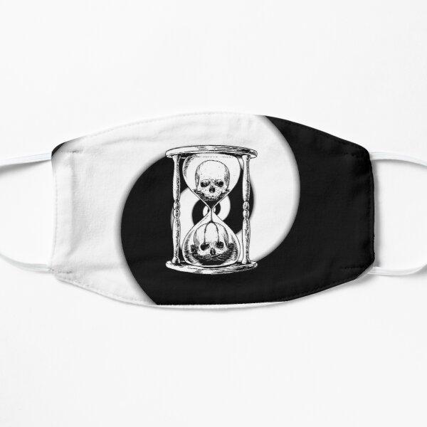 Unus Annus - Unus annus split - Unus annus hourglass Flat Mask RB0906 product Offical Unus Annus Merch