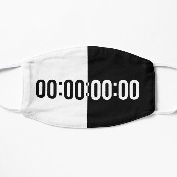 unus annus hourglass Flat Mask RB0906 product Offical Unus Annus Merch