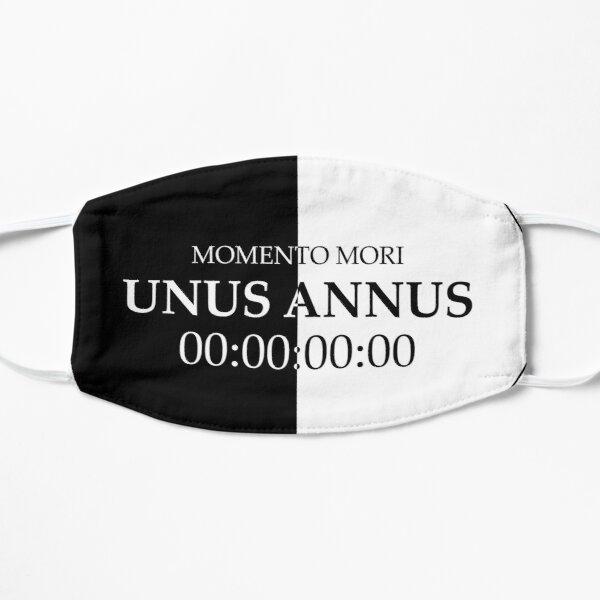 unus annus momento mori Flat Mask RB0906 product Offical Unus Annus Merch