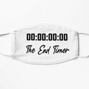 Unus Annus The End Timer Flat Mask RB0906 product Offical Unus Annus Merch