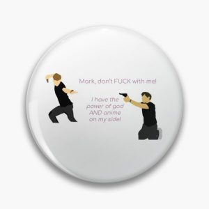 Unus Annus, Mark and Ethan get into a fight, quote Pin RB0906 product Offical Unus Annus Merch
