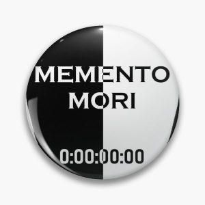 Memento Mori Unus Annus Coffin Pin RB0906 product Offical Unus Annus Merch