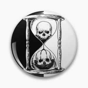 unus annus skull merch Pin RB0906 product Offical Unus Annus Merch